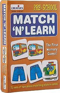 Creative Educational Pre-School Match-n-Learn - 3 Years & Above