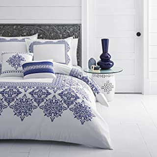 Azalea Skye Cora Duvet Cover Set, King, White