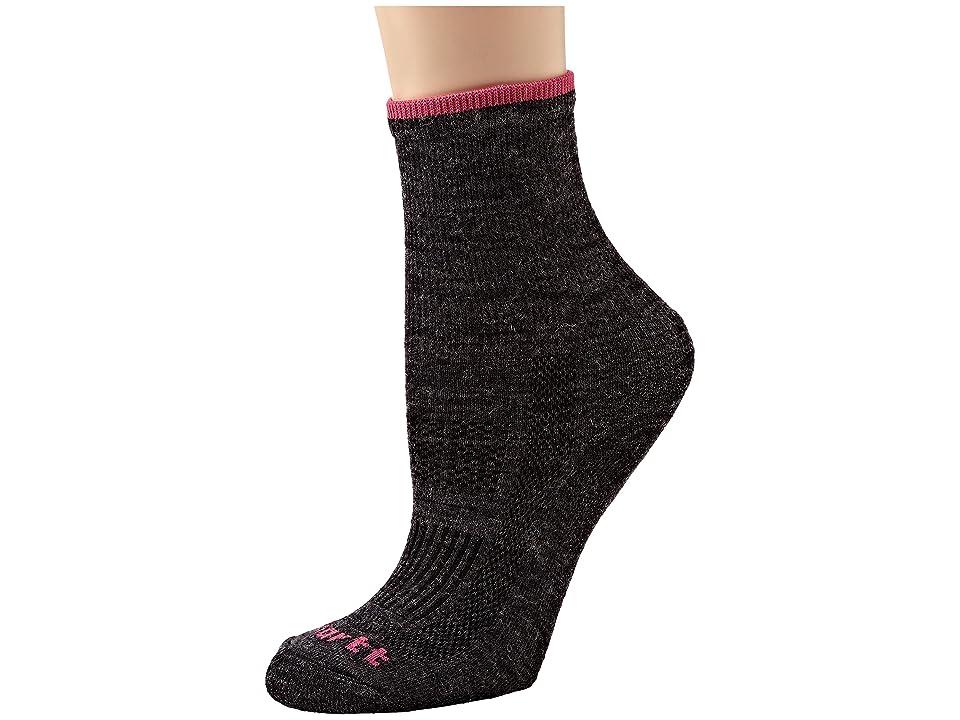 Carhartt Ultimate Merino Wool Work Socks 1-Pair Pack (Charcoal) Women's Crew Cut Socks Shoes, Gray