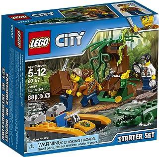 レゴ (LEGO) シティ ジャングル探検スタートセット 60157 組み立てキット (88ピース)