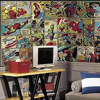 RoomMates Marvel Comic Panel Removable Wall Mural - 10.5 feet X 6 feet