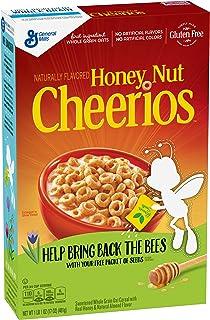 蜂蜜ナット穀物チェリオス、17 オンス Honey Nut Cheerios Cereal, 17 oz