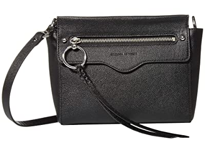 Rebecca Minkoff Gabby Crossbody (Black) Handbags