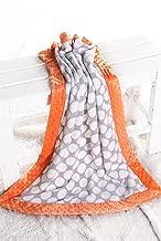 baby blanket orange