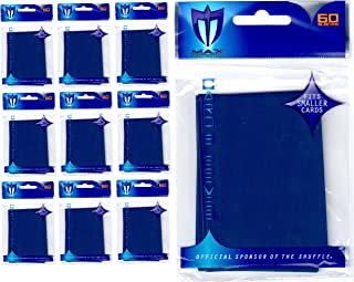 600 Max Pro Premium Blue Deck Protector Sleeves Yugioh Small Size