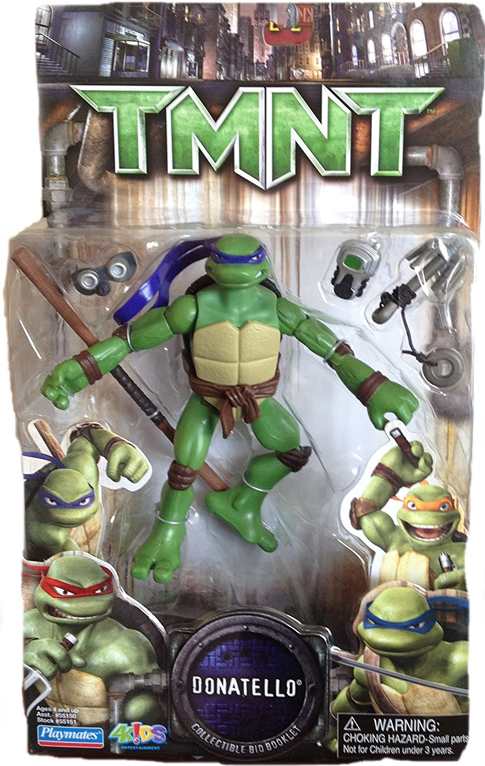 Vivid Teenage Mutant Ninja Turtles Donatello Film Figur