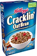 (Discontinued Version) Kellogg's Breakfast Cereal, Cracklin' Oat Bran, Excellent Source of Fiber, Made with Whole Grain, 17 oz Box