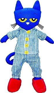MerryMakers Pete the Cat Bedtime BluesPlush Doll, 14.5-Inch