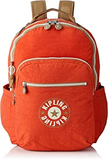 Kipling SEOUL BACKPACK KI5210M45 Casual Daypack, Funky Orange