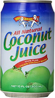 Amy & Brian Coconut Water Original, 10  Fl. Oz Can (Pack of 24)