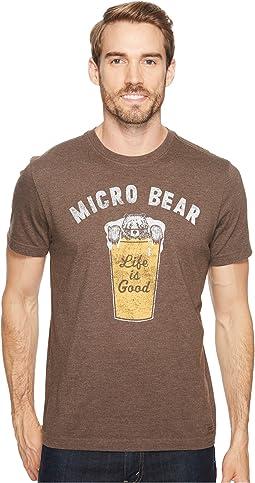 Life is Good - Micro Bear Crusher Tee