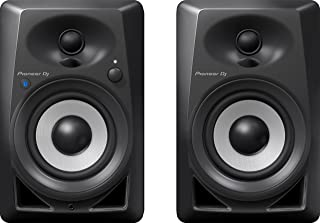 Pioneer DJ Studio Monitor, Black (DM40BT)
