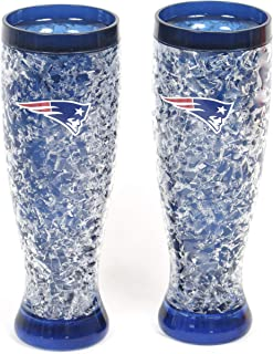 New England Patriots 2 pieces Large Unbreakable Pilsners.