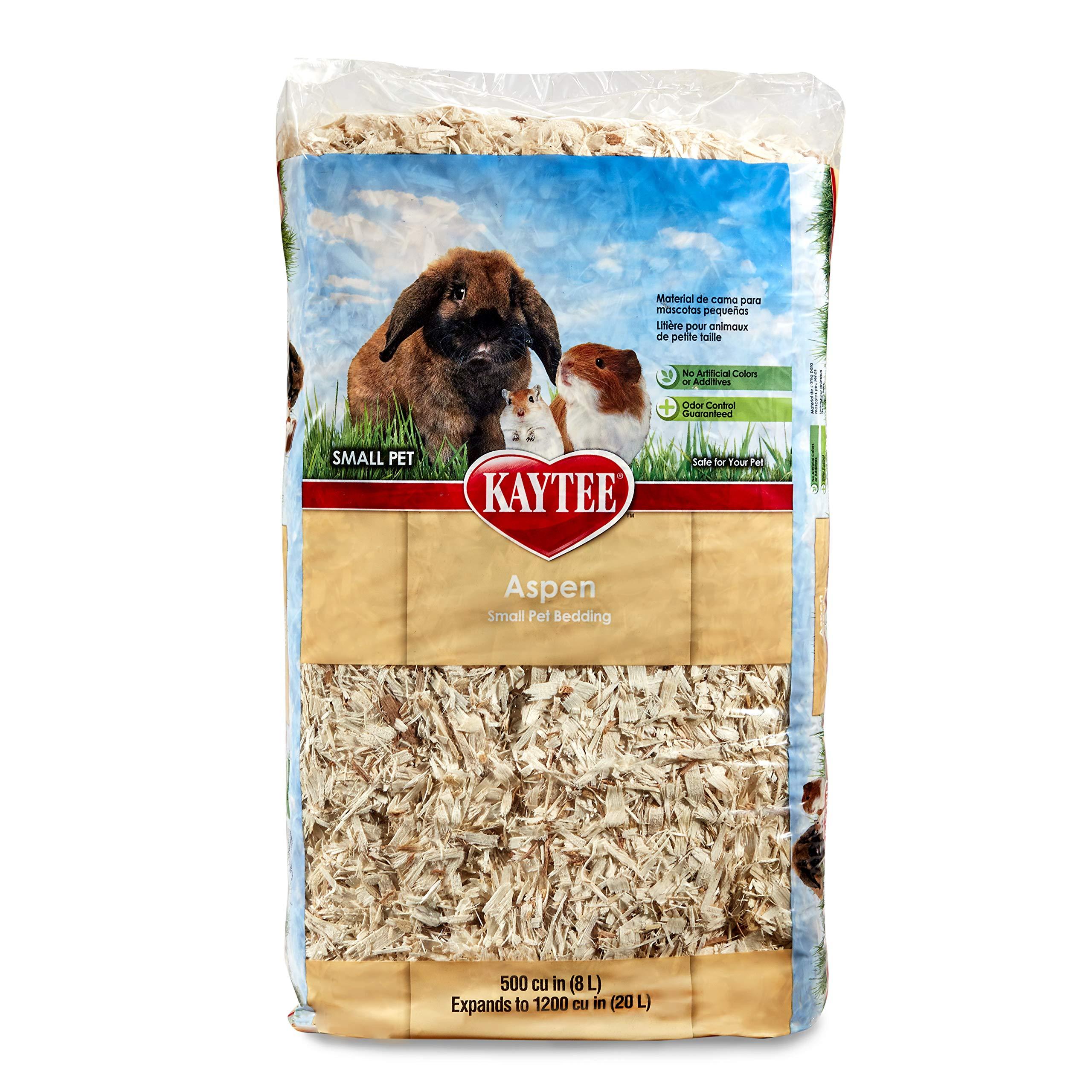Amazon Com Kaytee Aspen Bedding 1200 Cu In Pet Habitat Bedding Pet Supplies