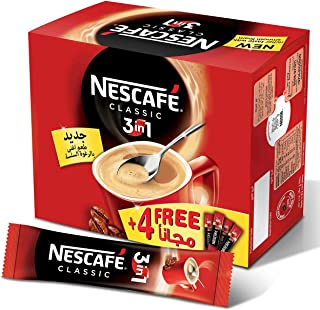 Nescafe 3IN1 Regular 20gm, 24 sticks and Bonus Pack 4 Sticks