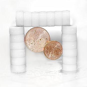 /ø12x6mm EXTRA STARK Neodym gummierte Schutzschicht Glasmagnettafel und als K/ühlschrankmagnete Starke neodym Magnete f/ür Magnettafel Whiteboard 20 Schwarze Magnete   einzigartig