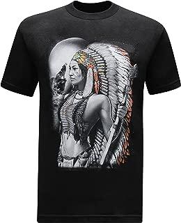 Native American Woman Warrior Men's T-Shirt