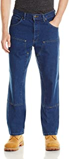 Key Apparel Men's Contractor Grade Double Front Denim Dungaree