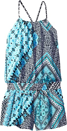 Seafolly Kids - Aztec Tapestry Jumpsuit Cover-Up (Big Kids)