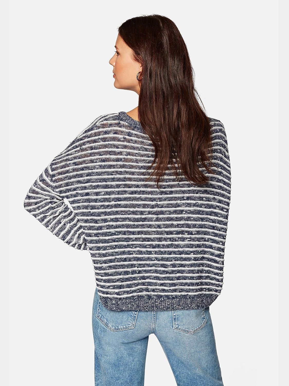 Mavi Damen Stripe Sweater Sweatshirt