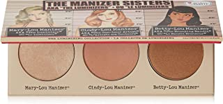 Manizer Sisters Palette, Multi-Tasking Highlighters, Shimmers, & Shadows