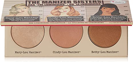 theBalm Manizer Sisters Palette, Multi-Tasking Highlighters, Shimmers, & Shadows
