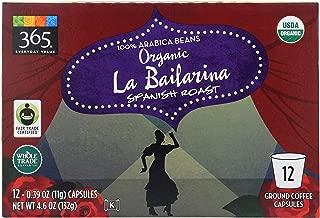 365 Everyday Value, Organic La Bailarina Spanish Roast Coffee Capsules, 12 ct