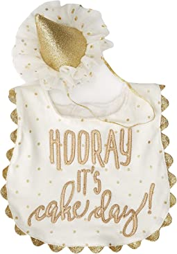 Mud Pie - Gold Cake Smashing Set