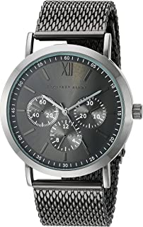نمایشگر آنالوگ GB8048GU مردانه Geoffrey Beene ساعت مچی خاکستری کوارتز ژاپنی