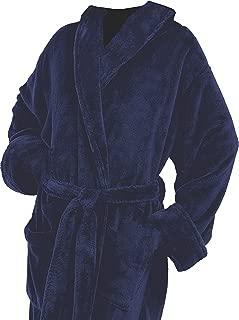 Men's Microfiber Plush Luxury Robe