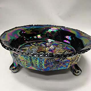 Best carnival glass butterfly dish Reviews