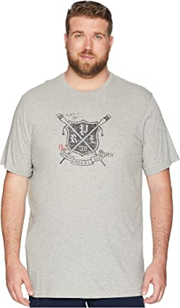 Big & Tall Rowing Club Crew T-Shirt