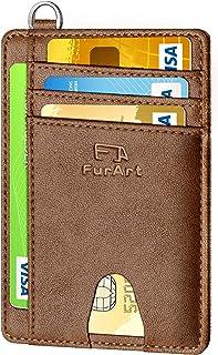 FurArt クレジットカードケース スキミング防止 薄型 0.6cm スマートタイプ スリム カラー豊富 メンズ レディース