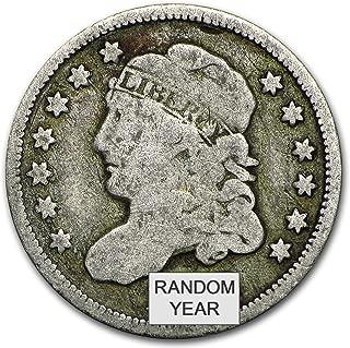 1829-1837 Capped Bust Half Dimes Avg Circ Dime Very Good