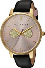 Ted Baker Women's Analogue Japanese Quartz Watch with Leather Strap 10030749