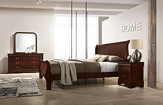 Amazon.com: Queen - Bedroom Sets / Bedroom Furniture: Home ...