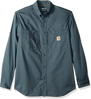 Carhartt Men's Force Ridgefield Long Sleeve Shirt (Regular and Big & Tall Sizes)