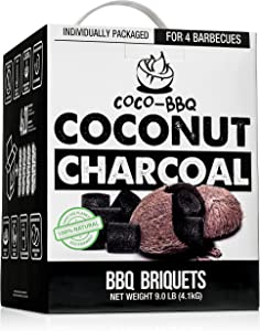 Charcoal Made From Coconut Shells