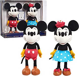 Disney Treasures from The Vault, Limited Edition Mickey Mouse and Minnie Mouse Plush, Amazon Exclusive