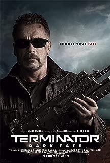 映画 ターミネーター ニュー・フェイト Terminator: Dark Fate 約90cm×60cm シルク調生地のアートポスター 03 アーノルド・シュワルツェネッガー ジェームズ・キャメロン