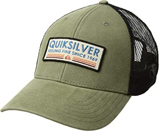 los angeles 6c59f 0e03a Quiksilver Men s Rig Tender Trucker Hat