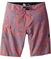 Logo Plasm Mod Boardshorts (Big Kids)