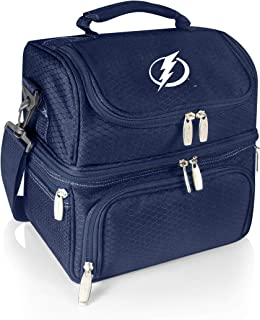 PICNIC TIME NHL Tampa Bay Lightning Pranzo Insulated Lunch Tote with Service for One