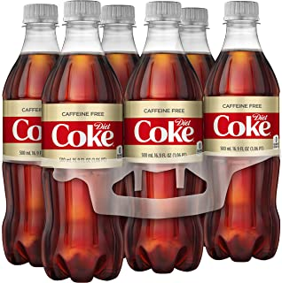 Caffeine Free Diet Coke, 16.9 fl oz, 6 Pack