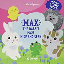 Max The Rabbit Plays Hide and Seek: Includes a Clever Puzzle (Clever Puzzle Books)