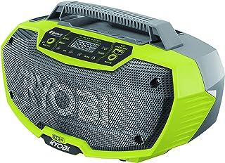 Ryobi R18RH-0 18V ONE+ Cordless Radio (Body Only),Hyper Green