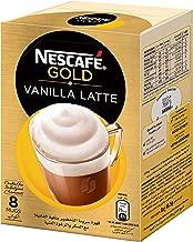 NESCAFE GOLD VANILLA Latte Instant Foaming Coffee Mix Sachet 18.5g(8 Sachets)