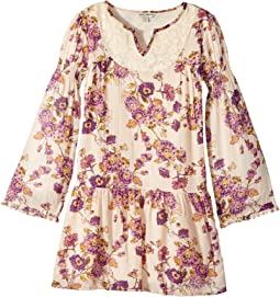 Lucky Brand Kids - Charlene Printed Dress (Big Kids)
