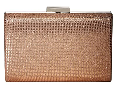 Jessica McClintock Tammy Minaudiere (Rose Gold) Clutch Handbags