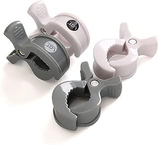 Stroller Pegs, Clips to Hook Muslin Blanket Baby Hanging Toys 6 Pack/4 Pack(4 Pack,Grey)